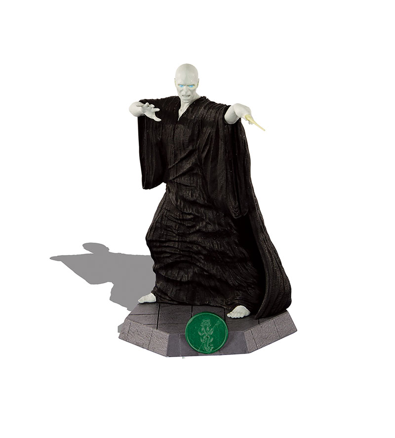 Harry Potter: Death Eaters Rising Lord Voldemort game piece close-up