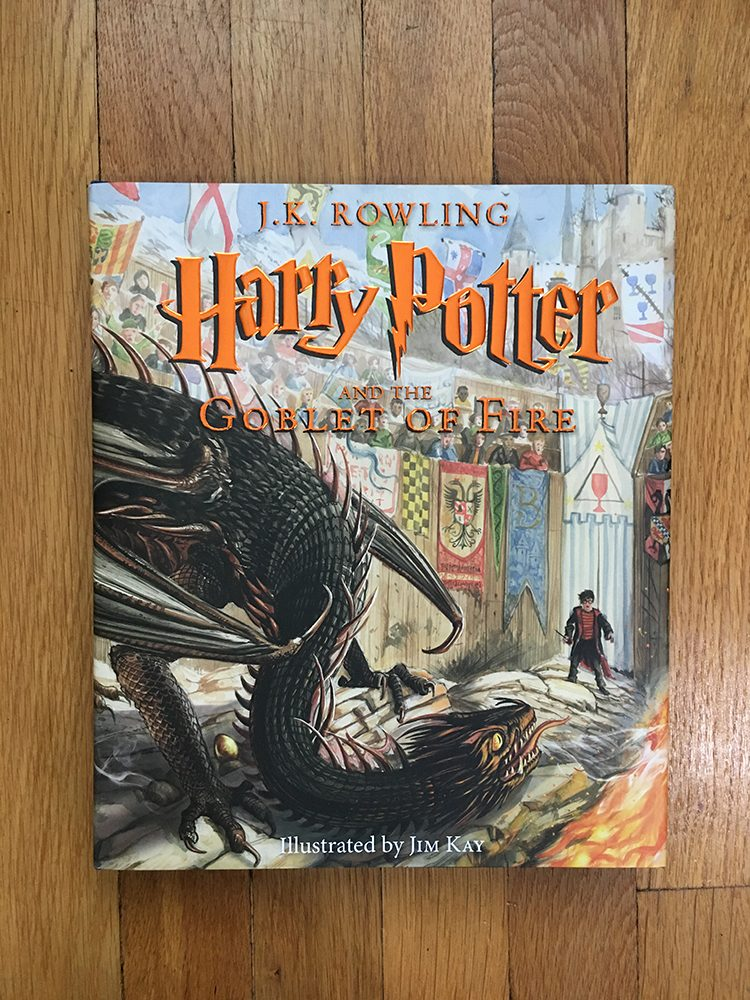 Illustrated Edition Harry Potter and the Goblet of Fire