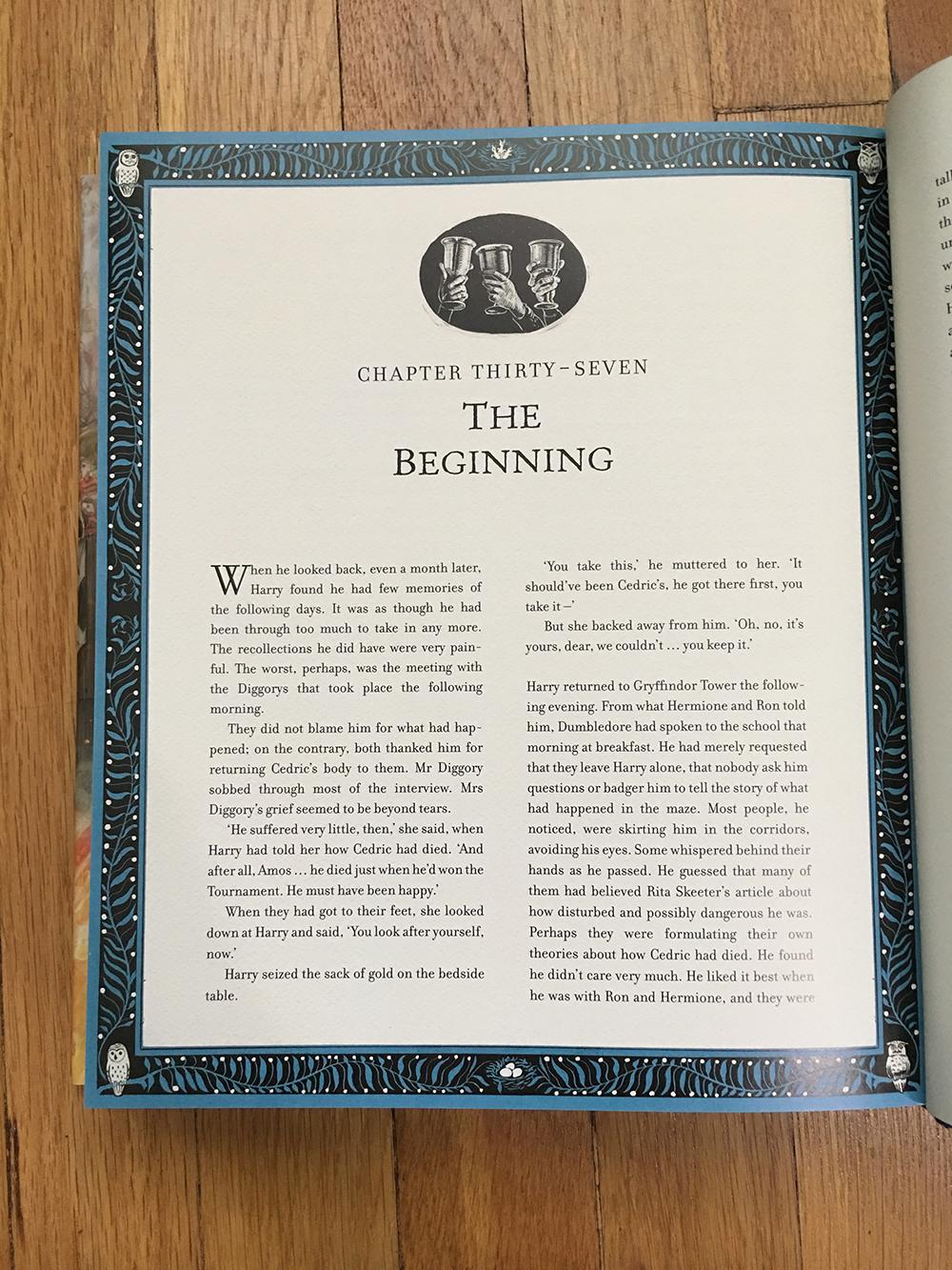Decorative chapter heading