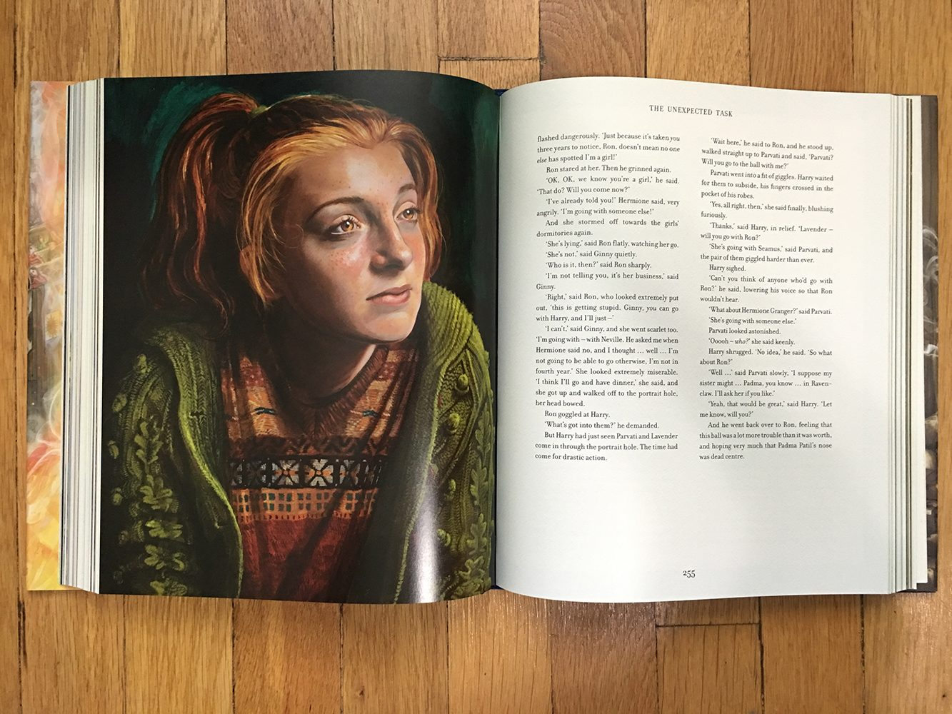 Ginny full-page spread