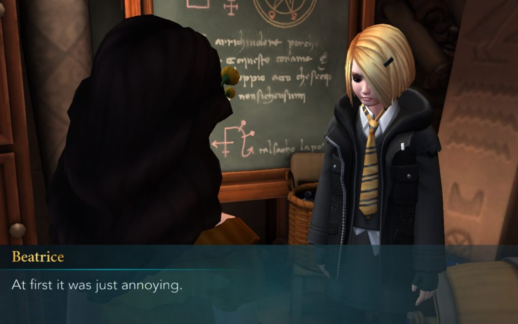 Beatrice Haywood was at first just annoying and is now really annoying.