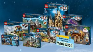 LEGO sets are featured as part of a contest prize from LEGO.