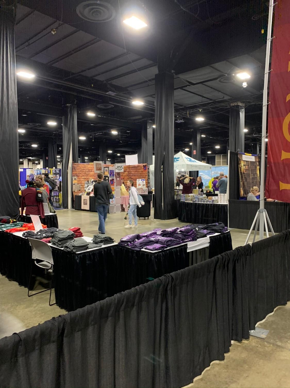 LeakyCon Marketplace floor