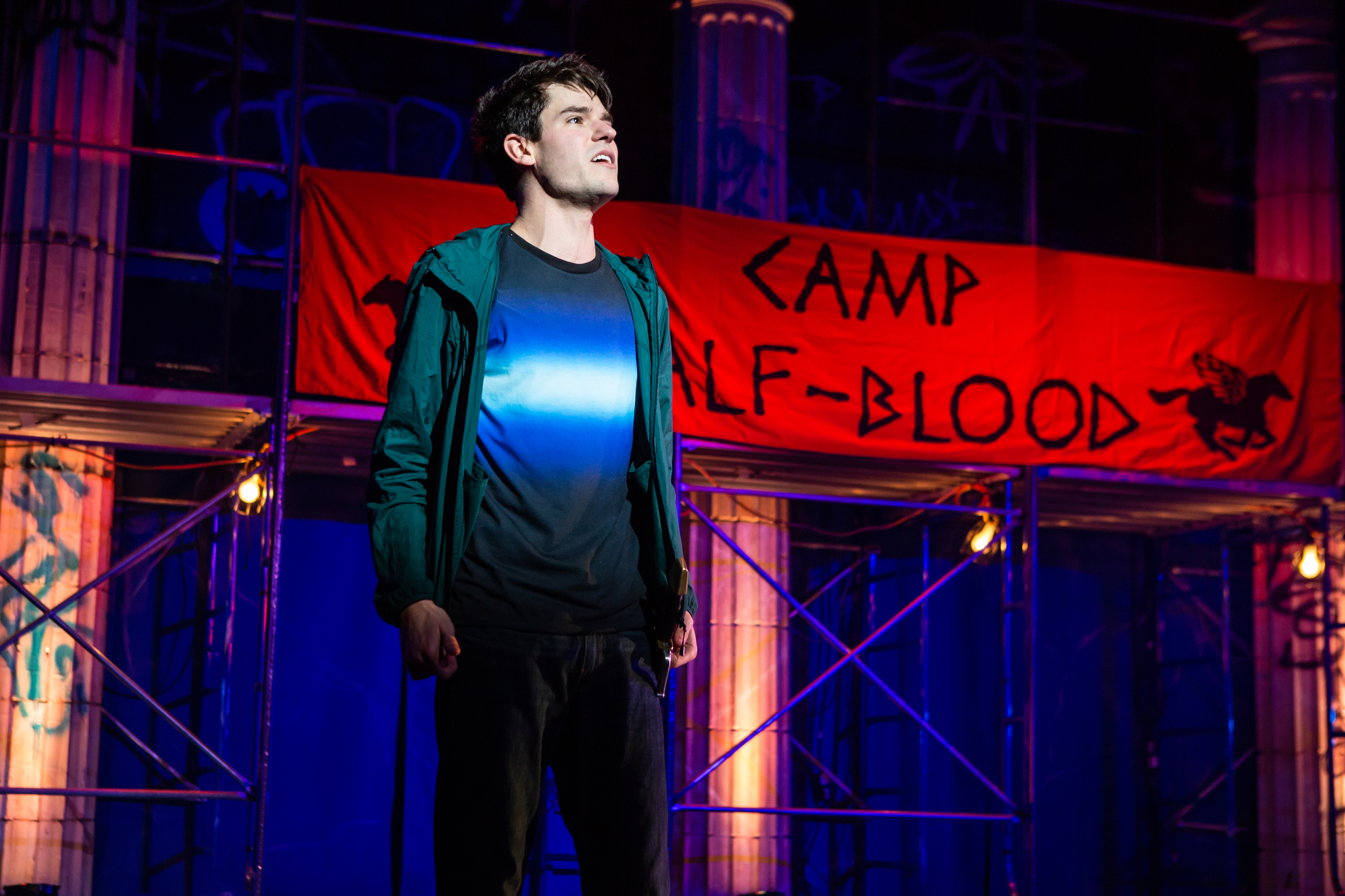 "Percy Jackson in ""The Lightning Thief: The Percy Jackson Musical"""