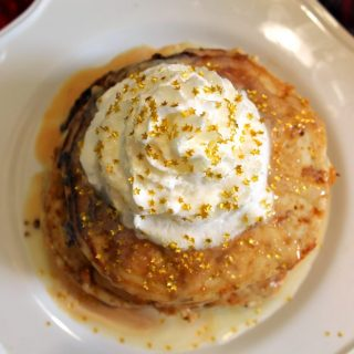 Magical Butterbeer Buttermilk Pancakes