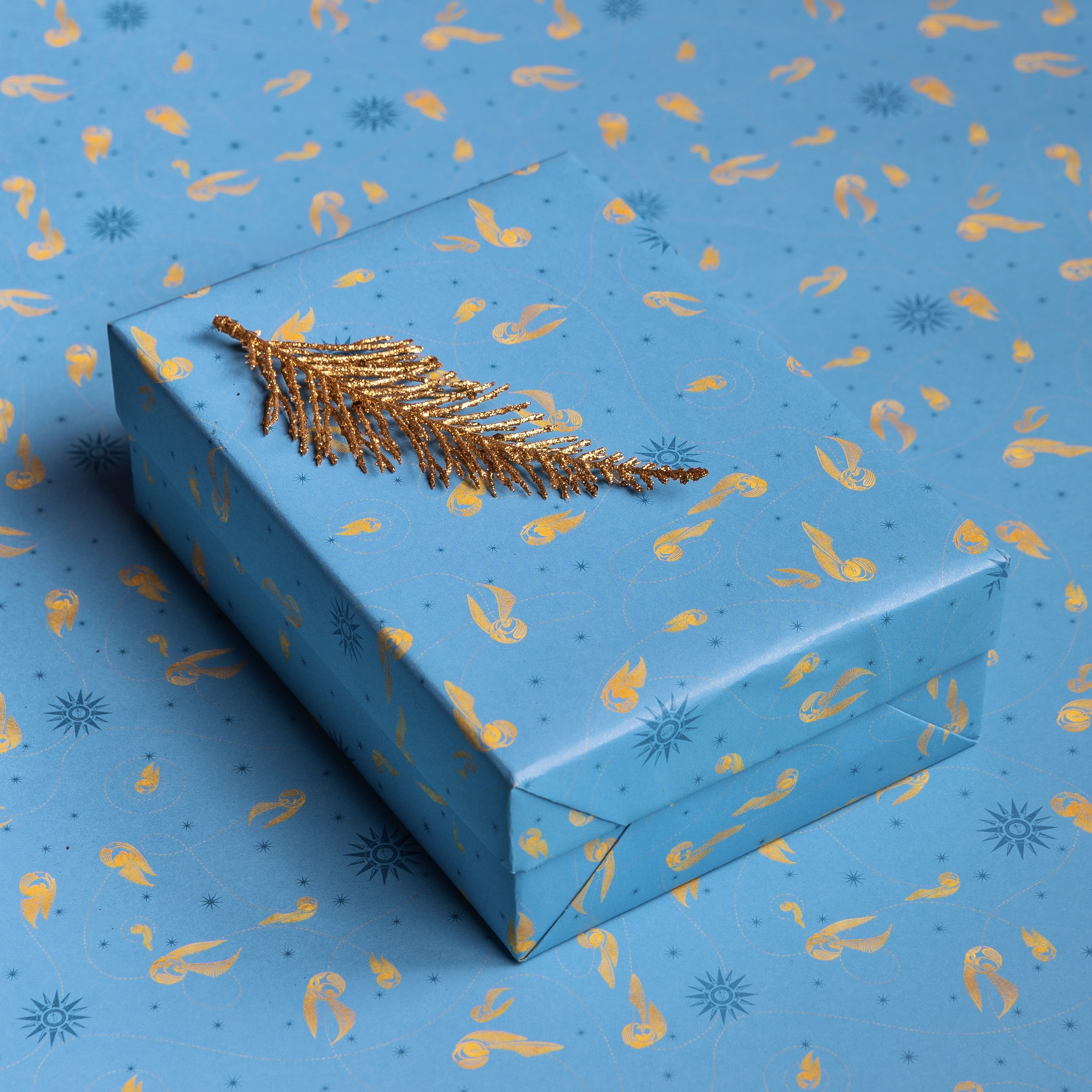 If Quidditch is your favorite thing about the wizarding world, then this gift wrap is the choice for you.