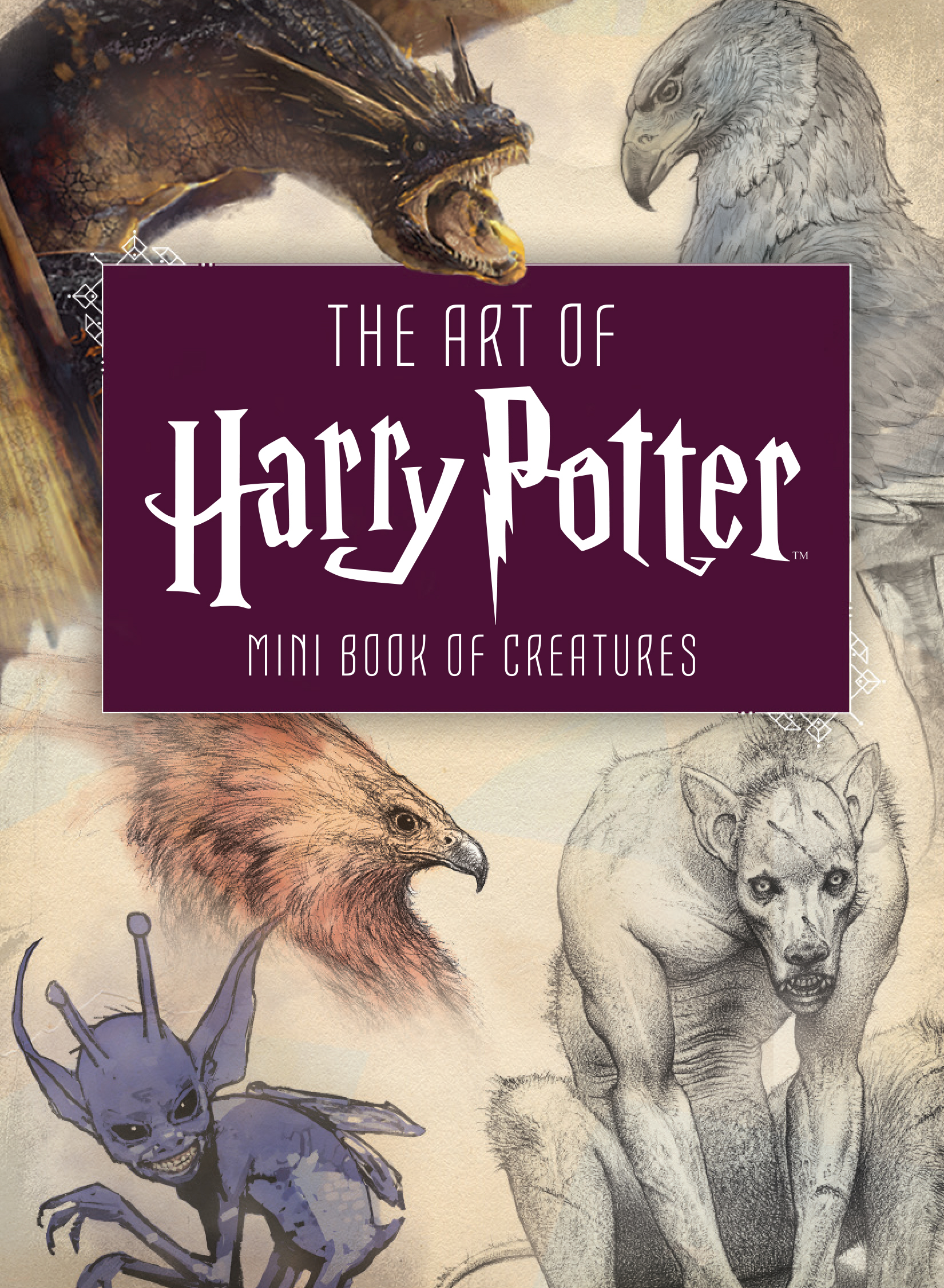 There is also a mini book about magical creatures!