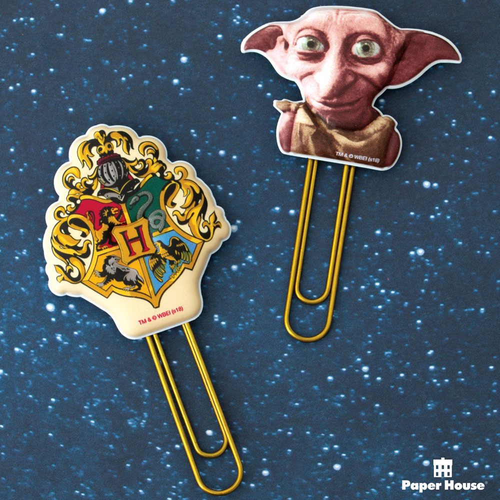 Paper House Productions – Hogwarts & Dobby puffy clips