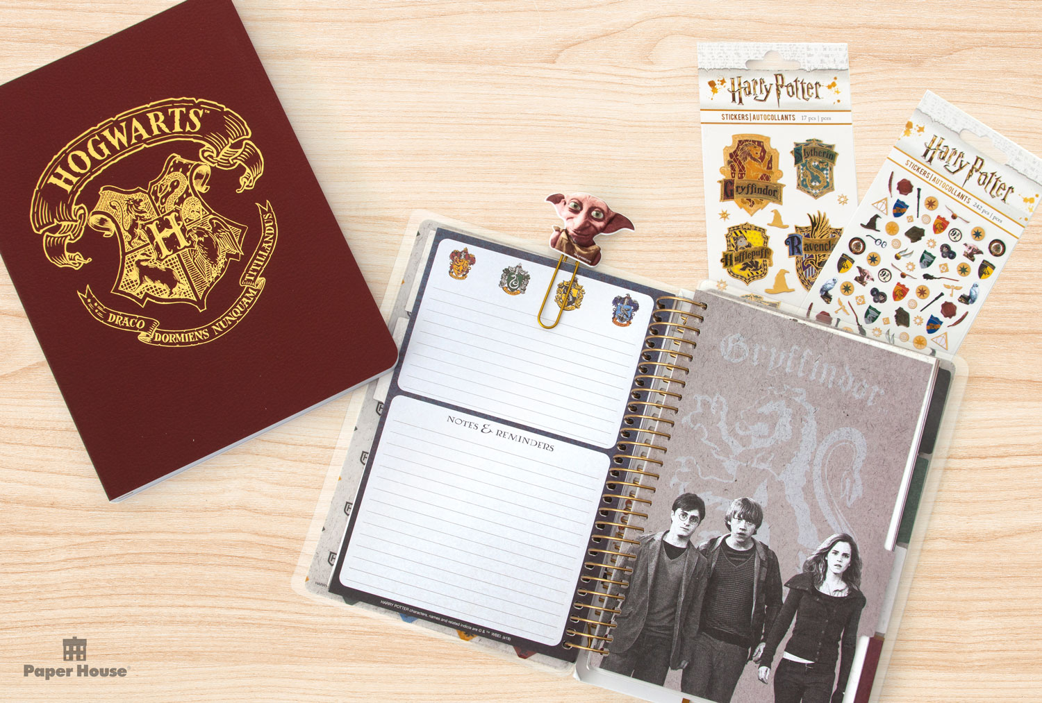 Paper House Productions – Hogwarts journal planner stickers