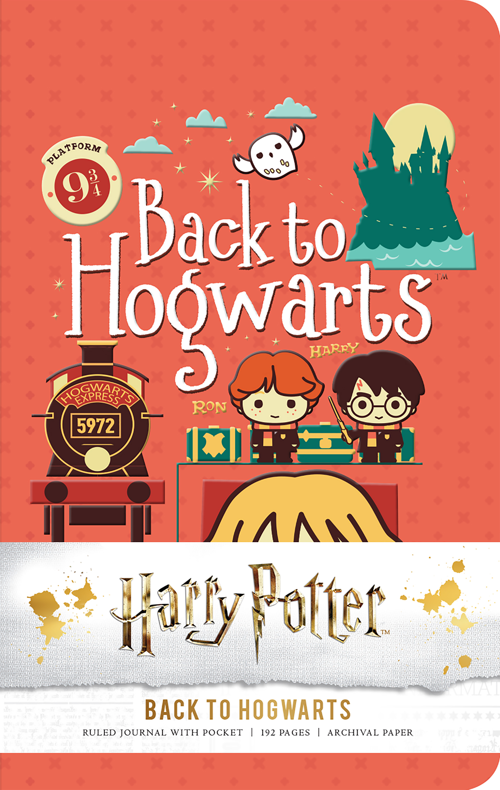 Ready to go back to Hogwarts? Then you better grab this journal to go along with you!