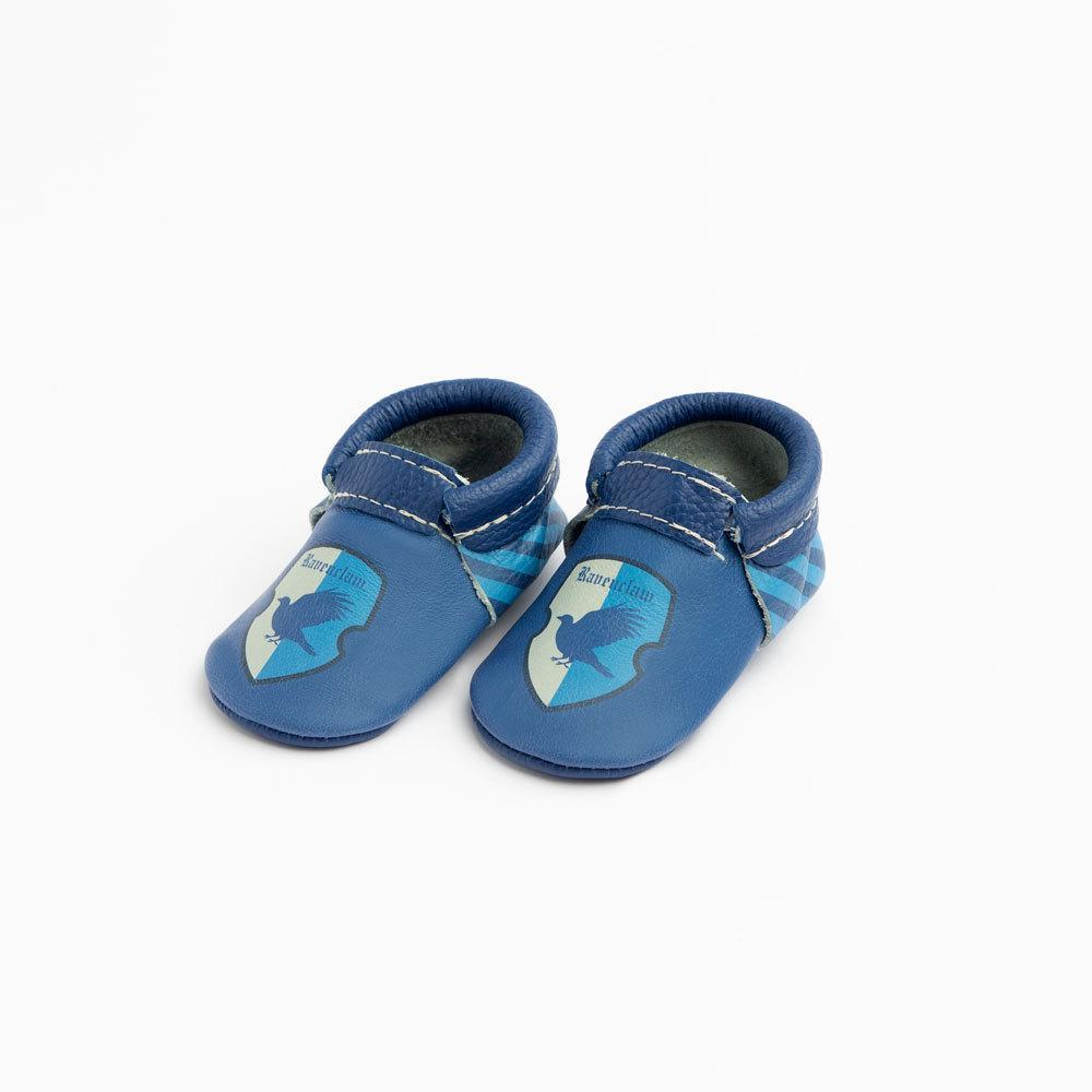 Are you in Ravenclaw? Well, your baby can be too with these cute blue shoes!