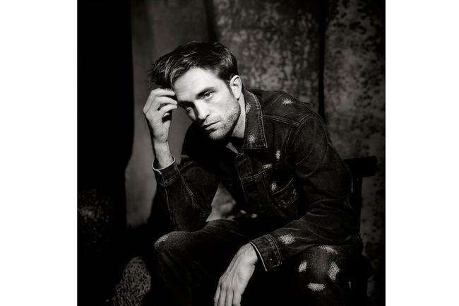 "Robert Pattinson is pictured in an image from his photo shoot with ""Esquire""."
