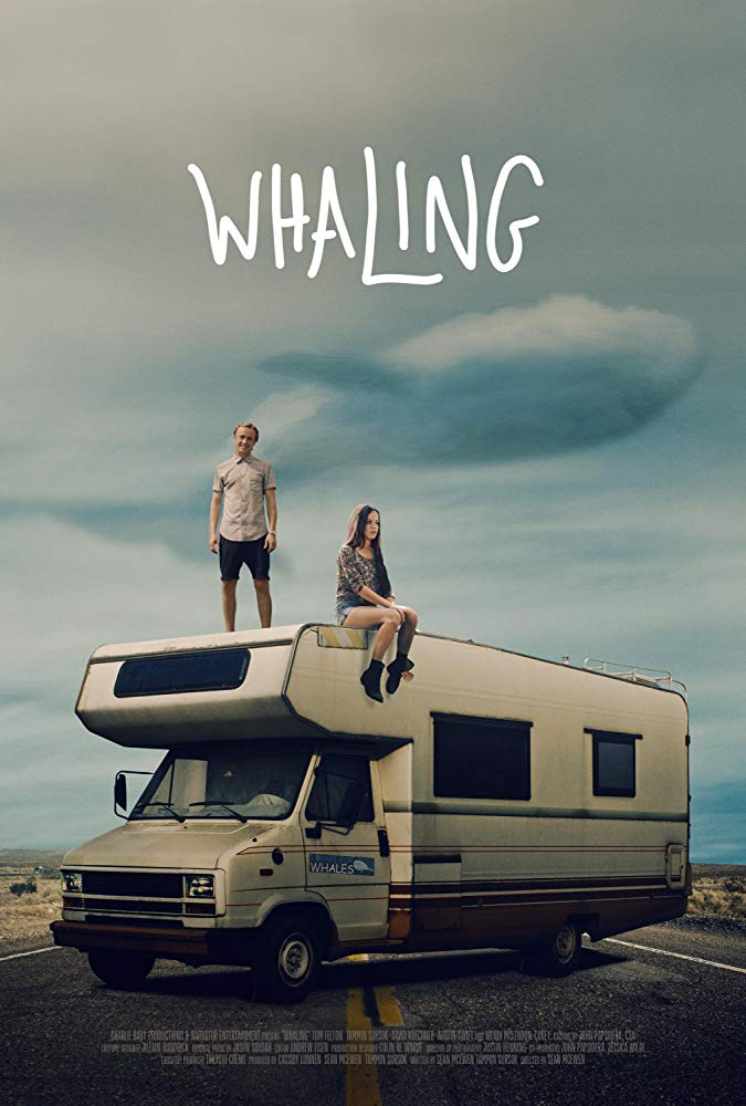 "Pictured is a movie poster for Tom Felton's ""Whaling""."
