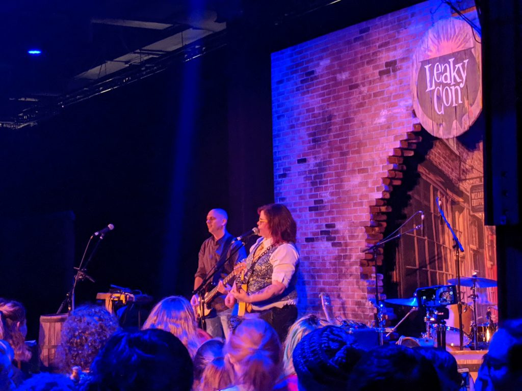 Tonks and the Aurors performs at LeakyCon 10