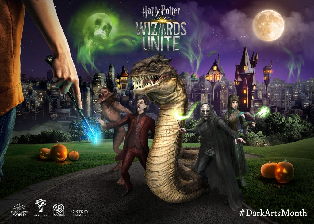 """""""Harry Potter: Wizards Unite"""" has several events planned for Dark Arts Month."""