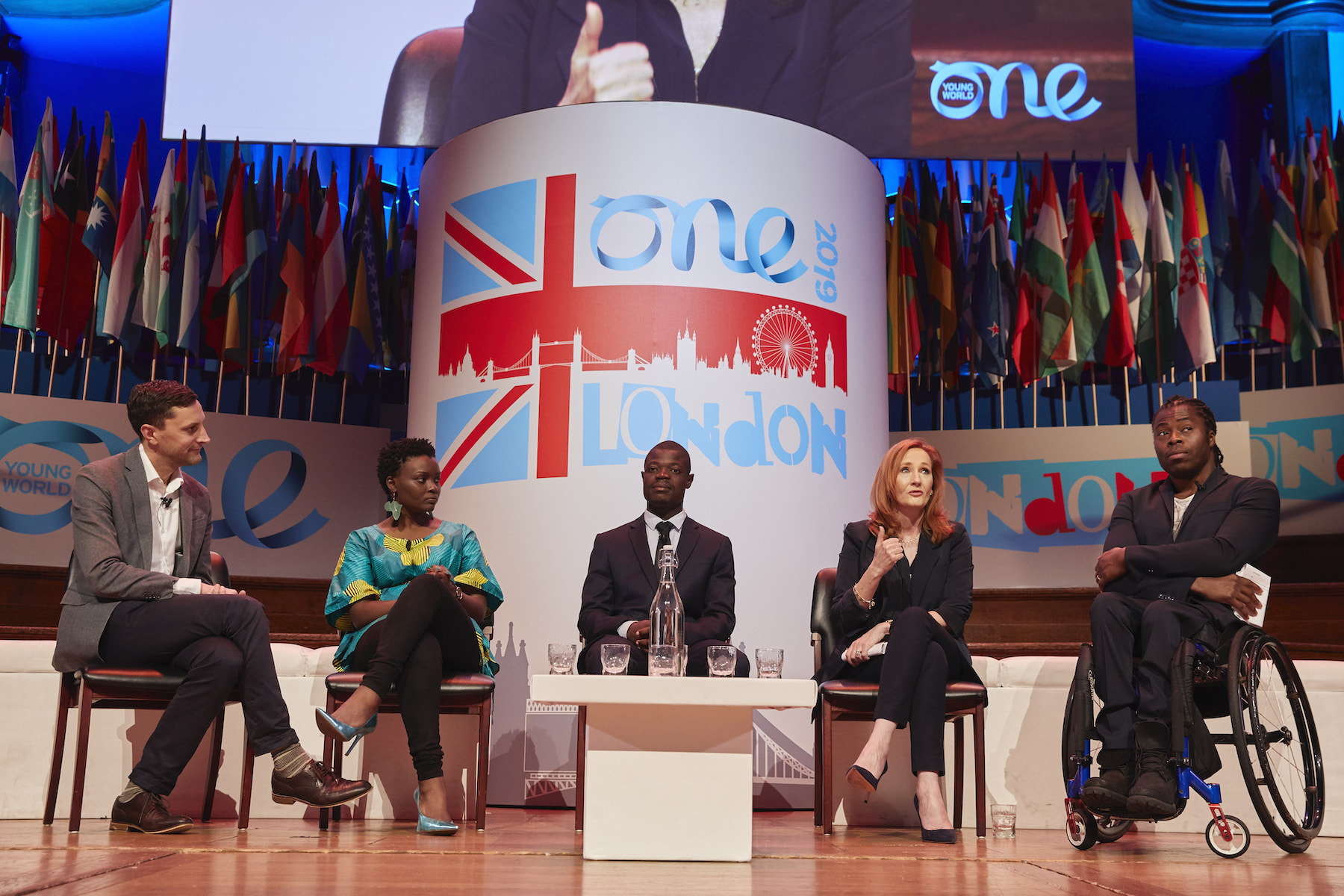 Rowling at One Young World Summit