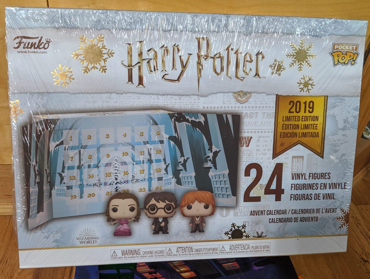 Eight3Five Advent calendar box