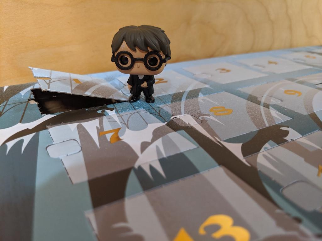 Eight3Five Advent calendar with Harry Potter figurine