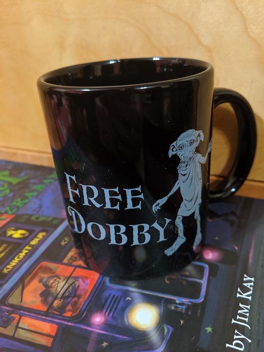 "Eight3Five ""Free Dobby"" mug"