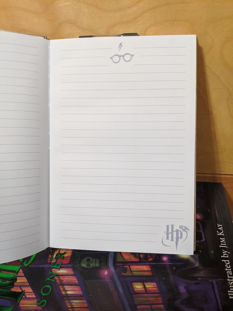 Eight3Five notebook, lined pages