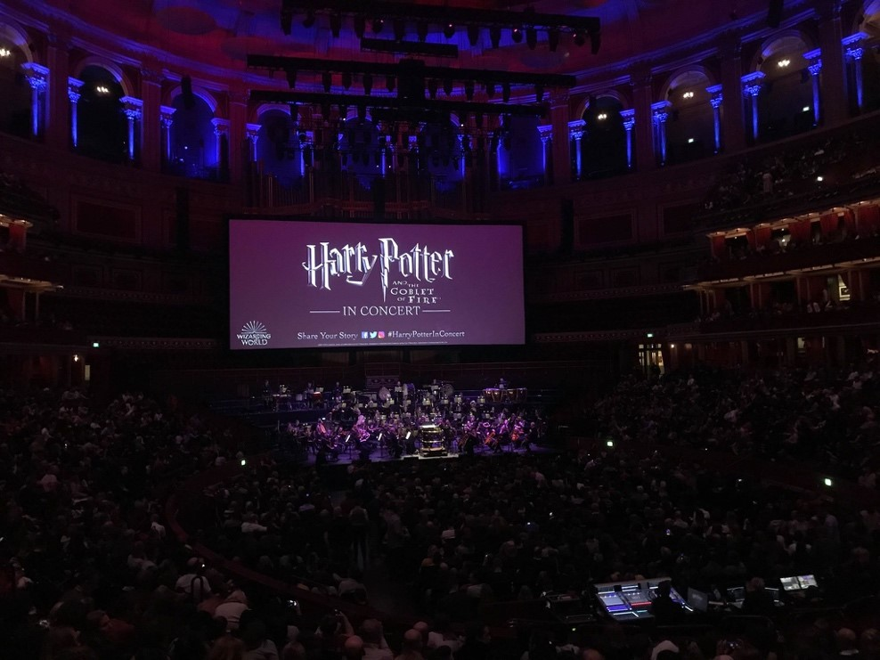 """Harry Potter and the Goblet of Fire"" in Concert at the Royal Albert Hall"
