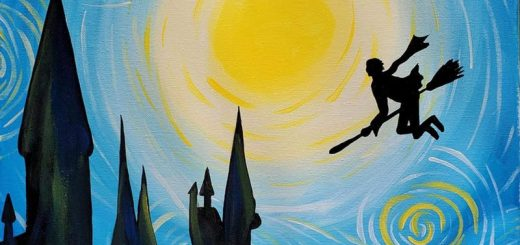 Events Roundup Harry Potter Paint Night Featured Image