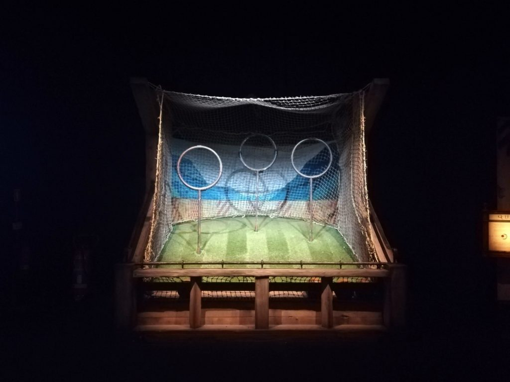 Harry Potter The Exhibition Lisbon Qudditch Hoops