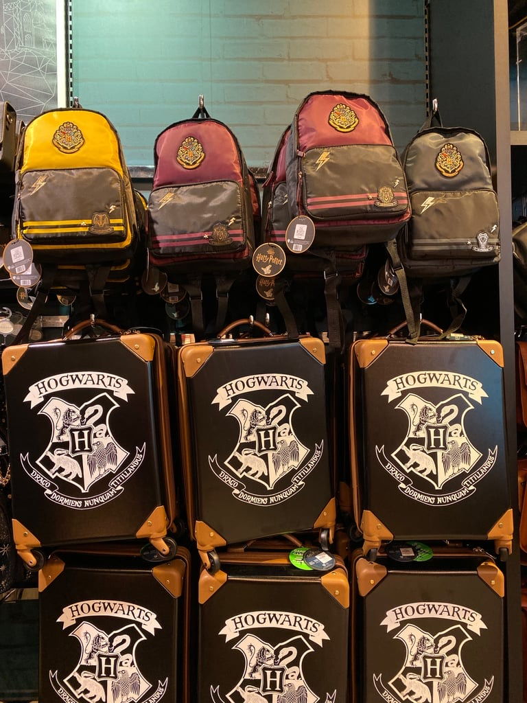 Primark even has adorable Hogwarts crest suitcases.