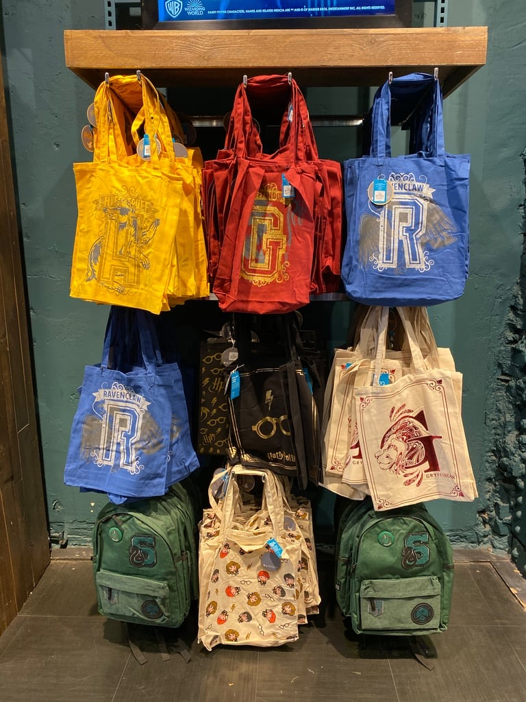 Primark has the perfect bag for every Hogwarts House.