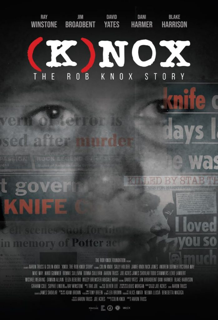 """""""Knox: The Rob Knox Story"""" documentary poster by Leanne Ling"""