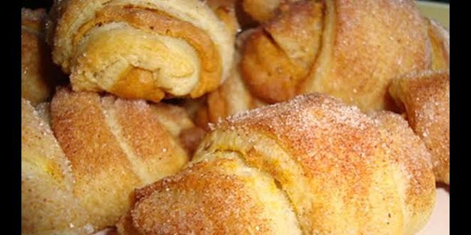 Rosmerta's Recipes - Mini Pumpkin Pie Croissants