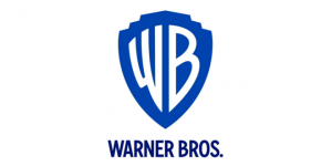 The new Warner Bros. shield logo, as designed by Emily Oberman of Pentagram.
