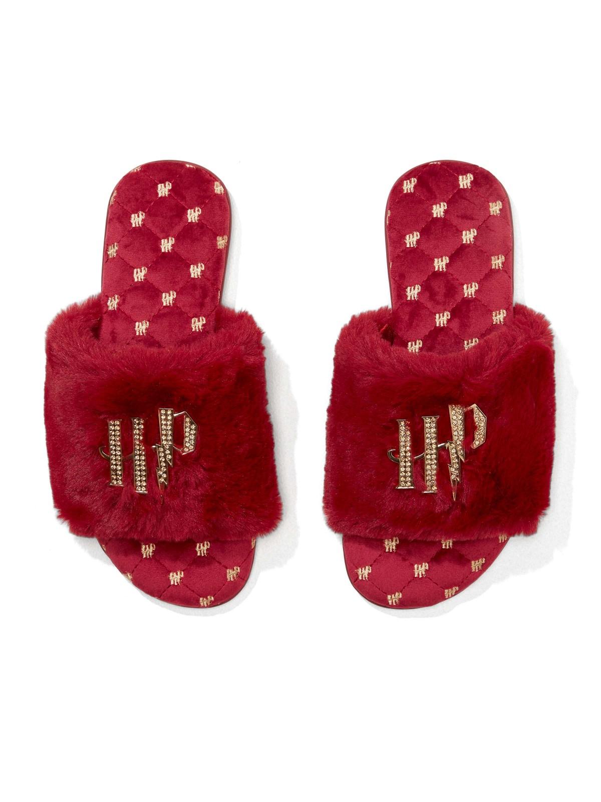 Peter Alexander slippers, top view