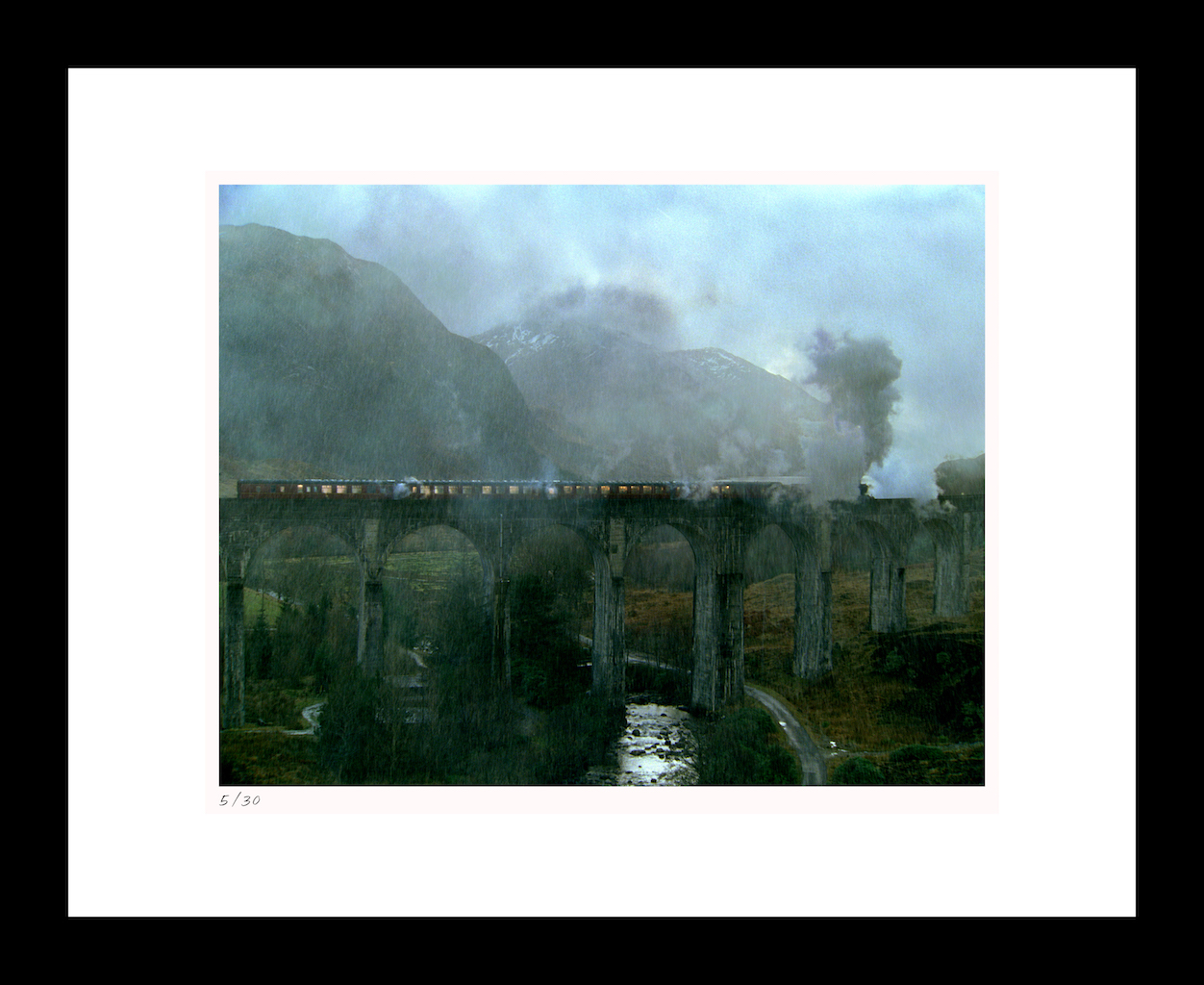 "Classic Stills ""The Hogwarts Express Stops"""