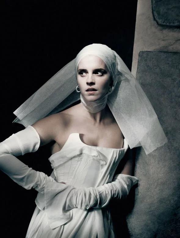 Emma Watson appears in the 2020 Pirelli Calendar, dressed as her interpretation of Shakespearean heroine Juliet.