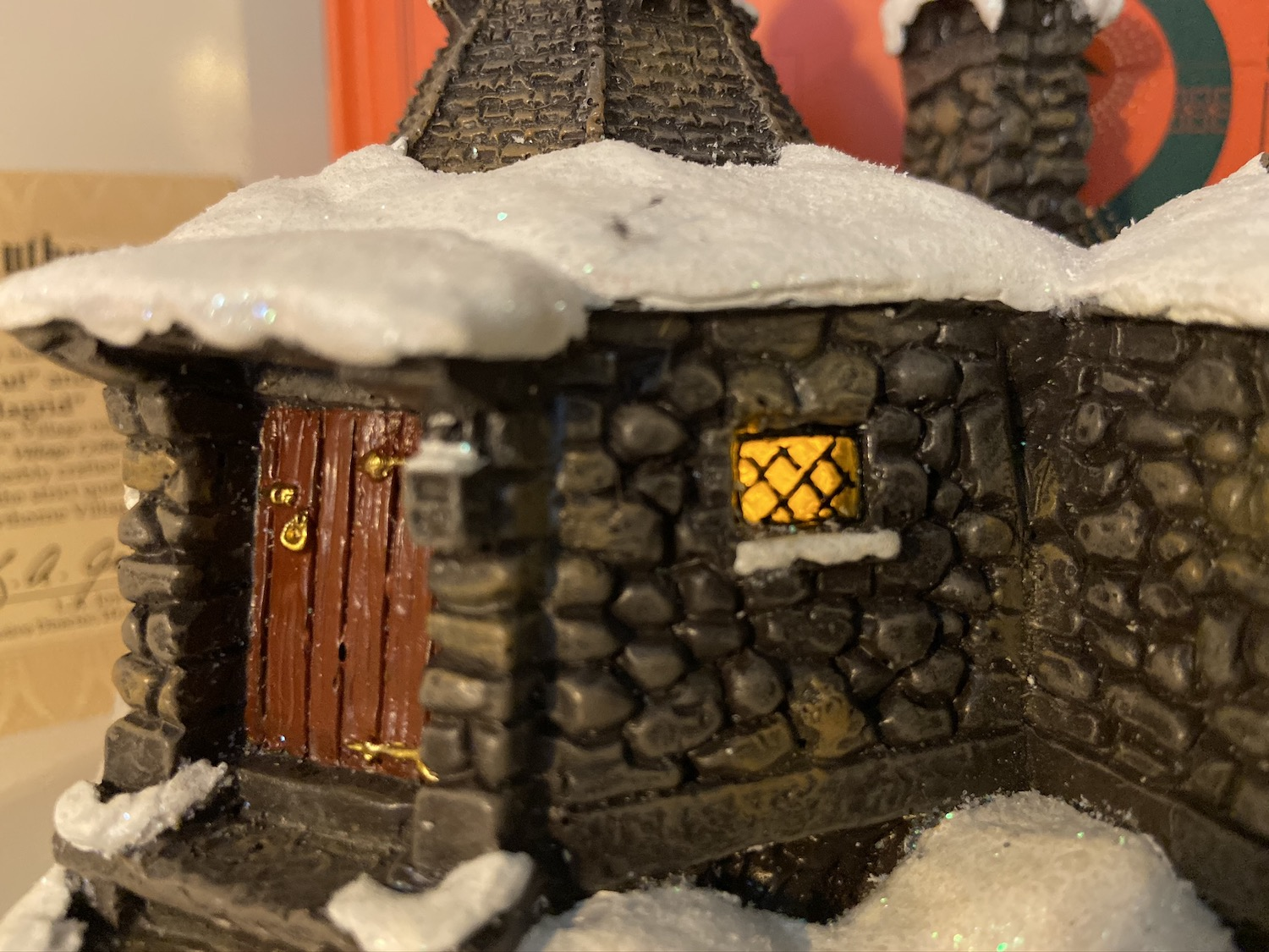 Bradford Exchange Hagrid's Hut set