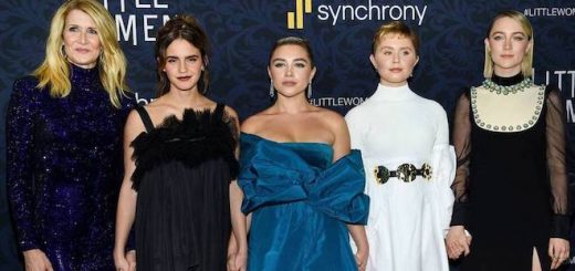 "Emma Watson attends the premiere of ""Little Women"" in New York City and is joined by her castmates."