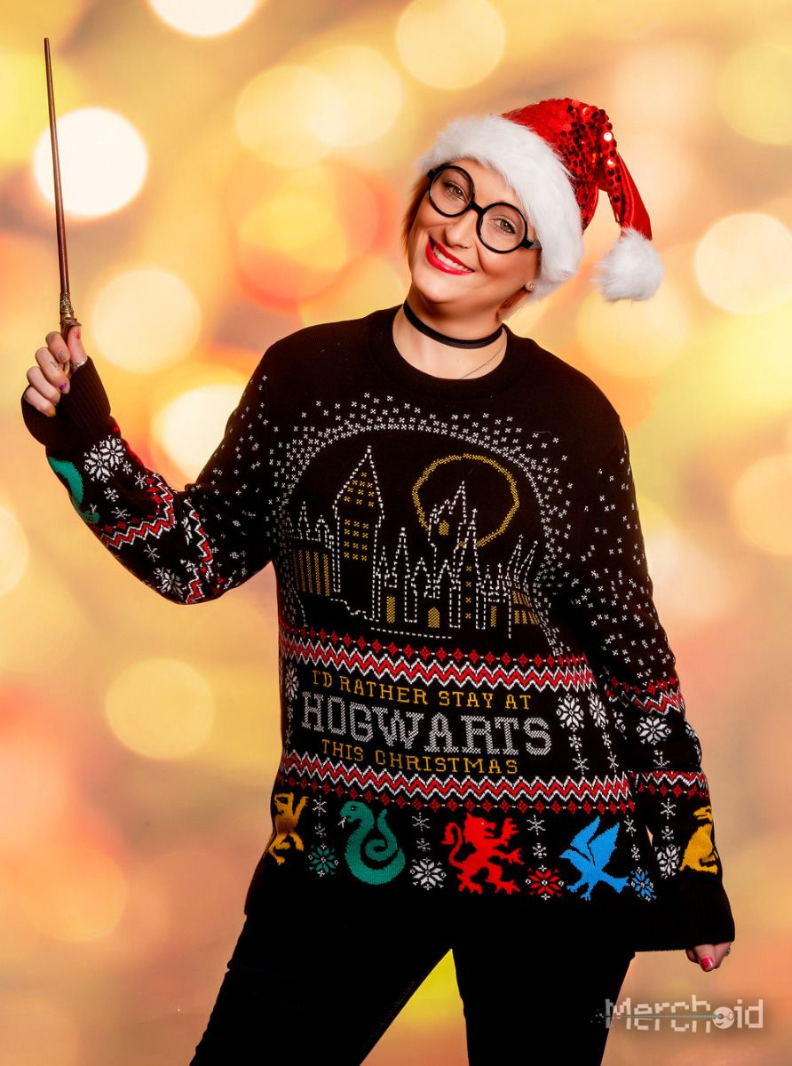 """Review: """"Harry Potter"""" Holiday Sweater from Merchoid ..."""