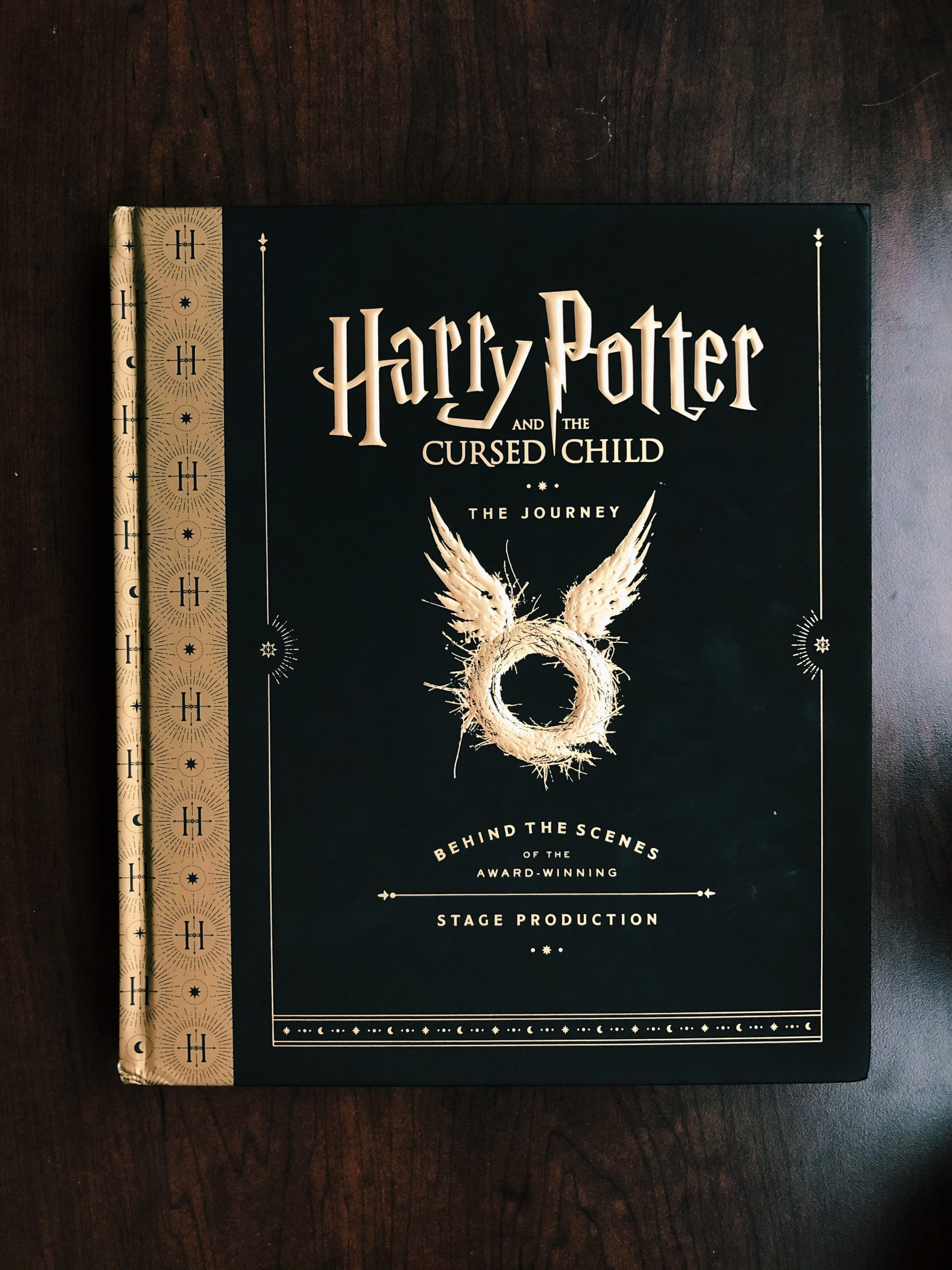 """The cover of """"Harry Potter and the Cursed Child: The Journey"""""""