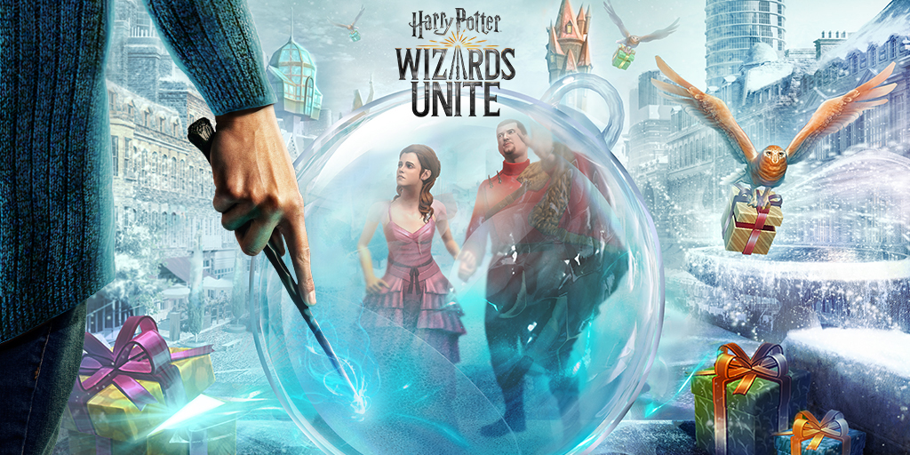 """Harry Potter: Wizards Unite"" is in the midst of Part One of its Christmas Calamity Brilliant Event."
