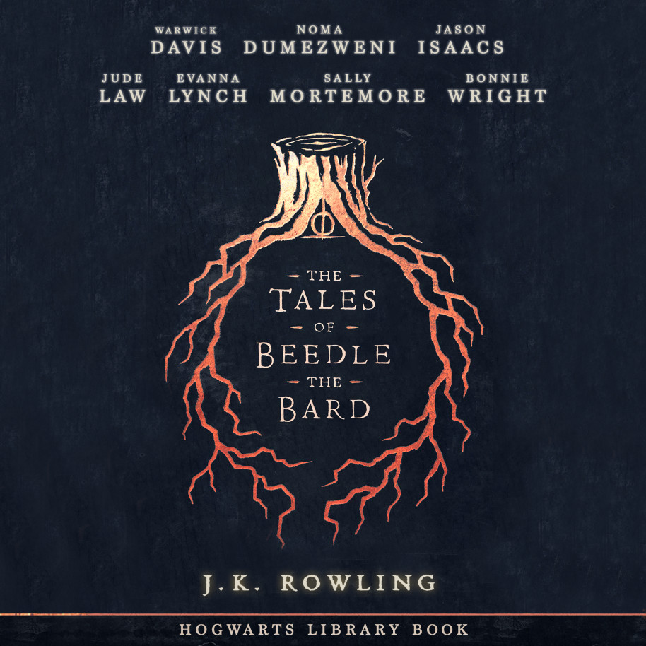 image of the cover of the studio book of the tales of Beedle the bard