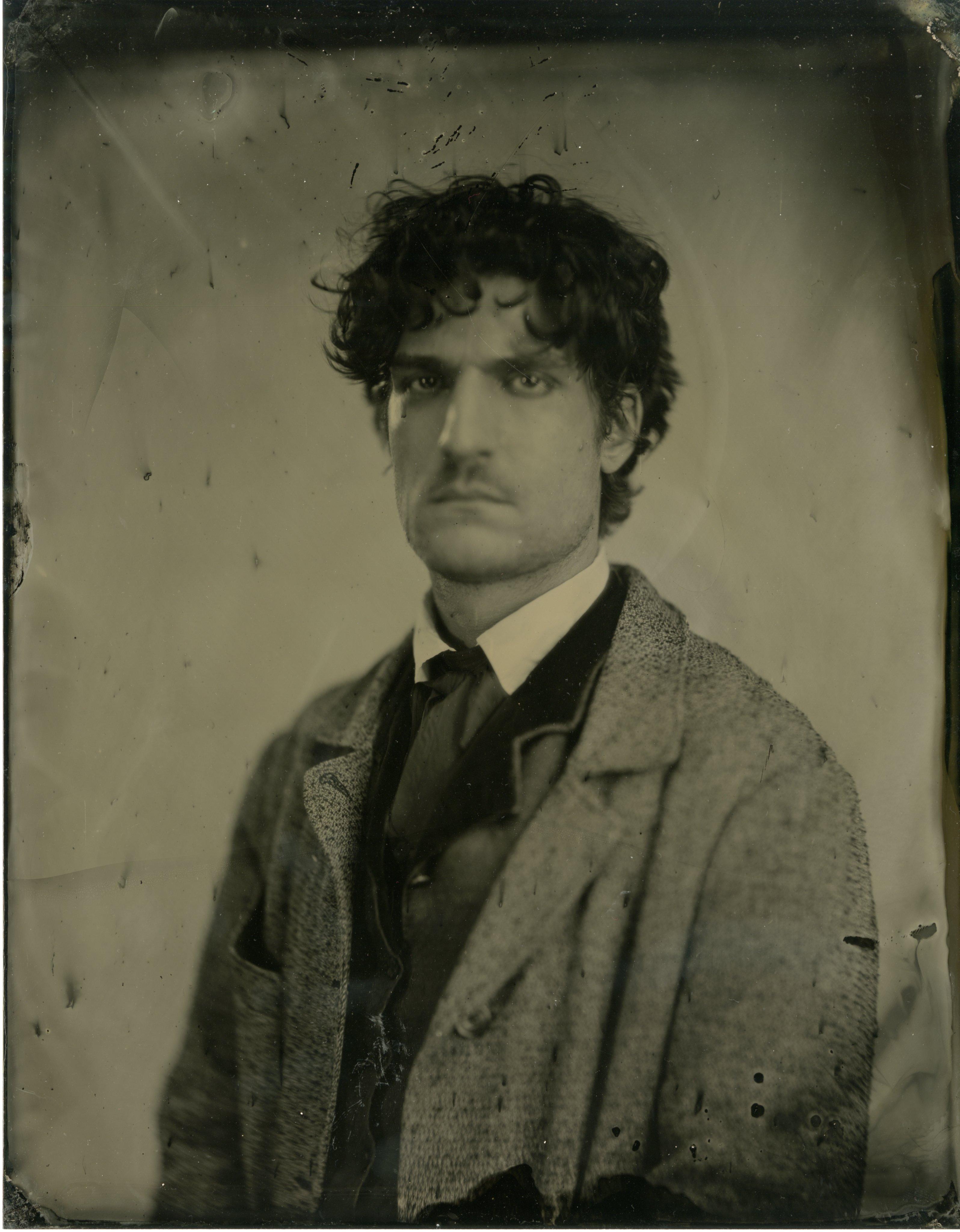 Actor Louis Garrel portrays Friedrich Bhaer.