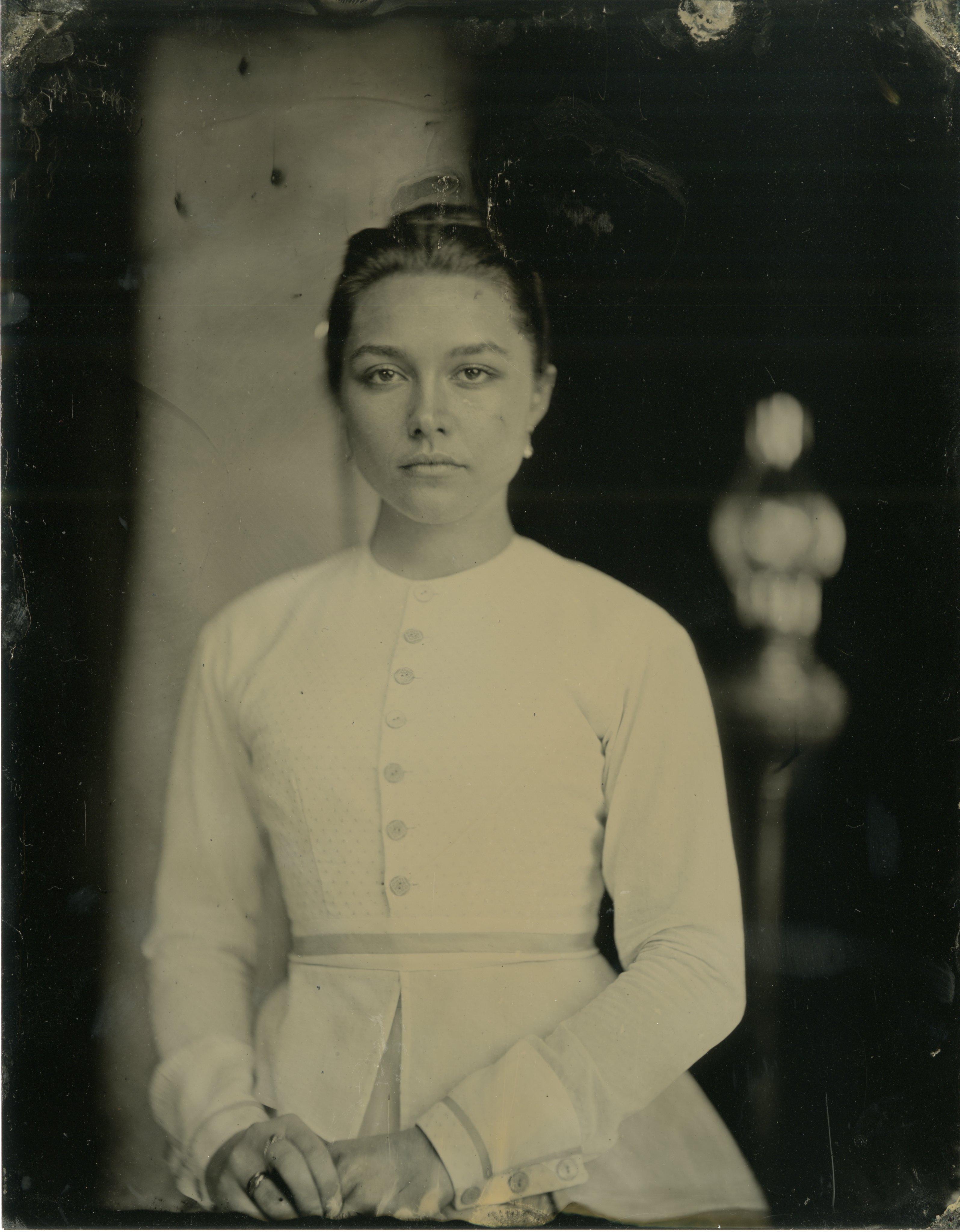 Actress Eliza Scanlen portrays Beth March.