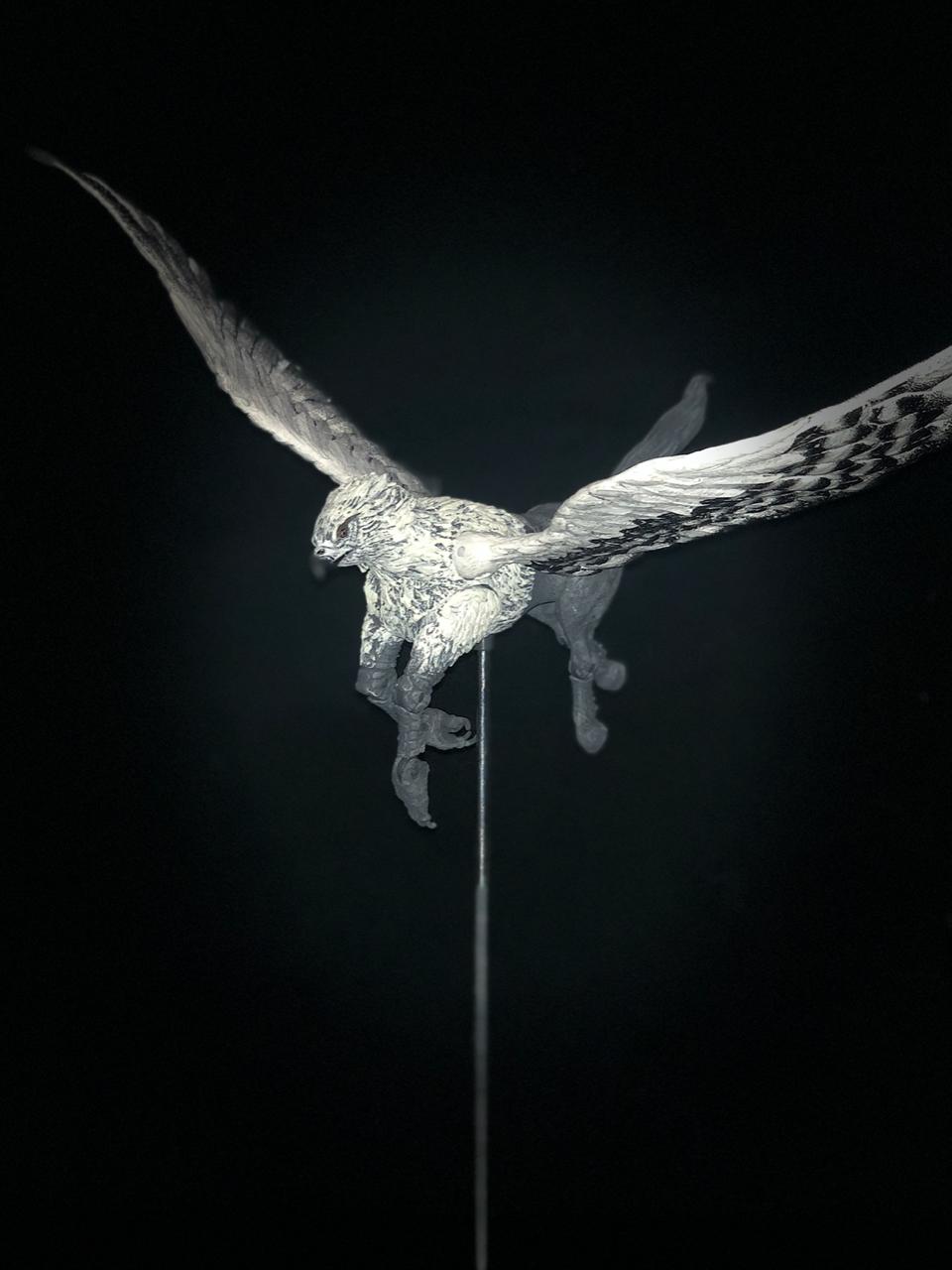 Buckbeak in flight