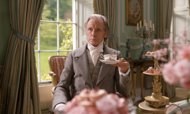 "Bill Nighy as Mr. Woodhouse in a scene from ""Emma""."