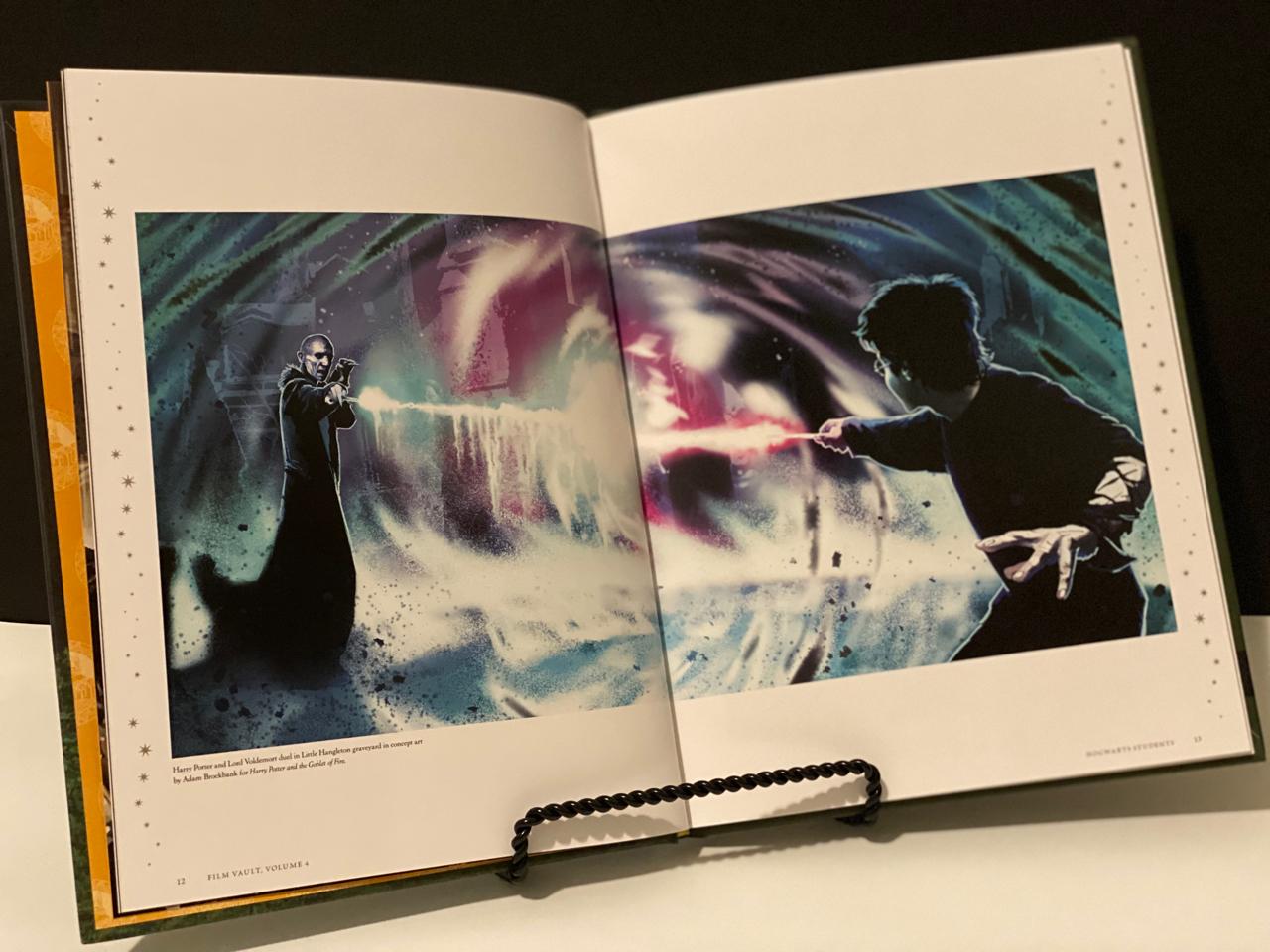"""Harry Potter: Film Vault: Volume 4"", inside"