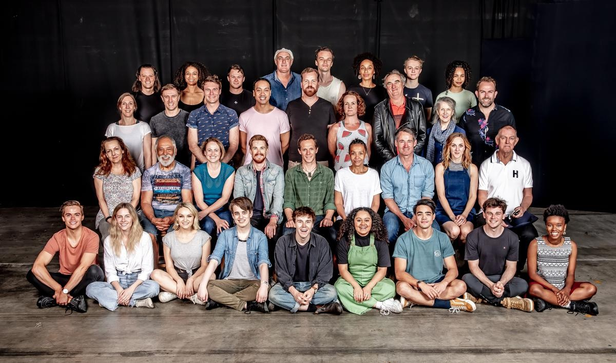 """The full Year 2 cast of """"Harry Potter and the Cursed Child"""" Melbourne."""
