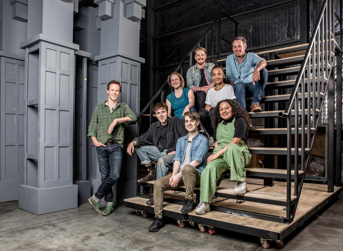 """The principal players for Year 2 of """"Harry Potter and the Cursed Child"""" Melbourne."""