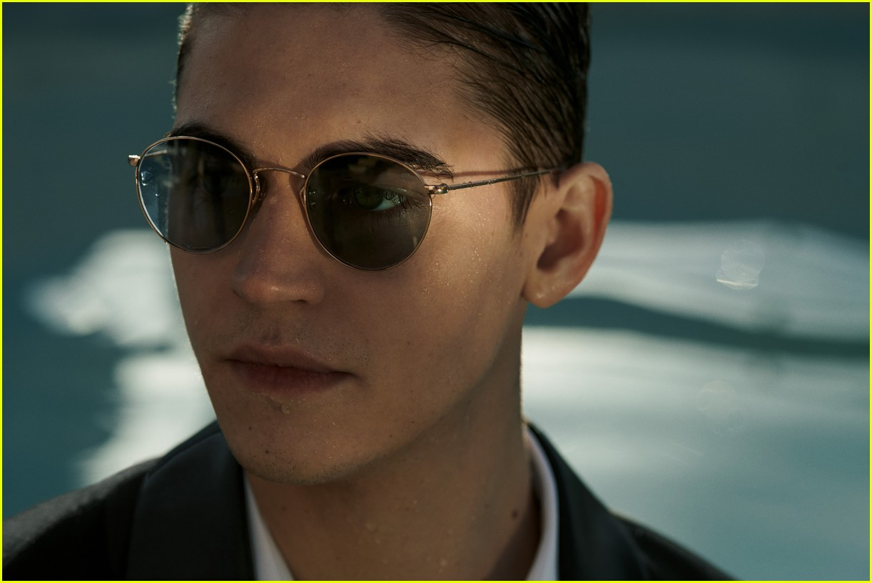 Hero Fiennes-Tiffin's future's so bright, he's gotta wear Oliver Peoples shades.