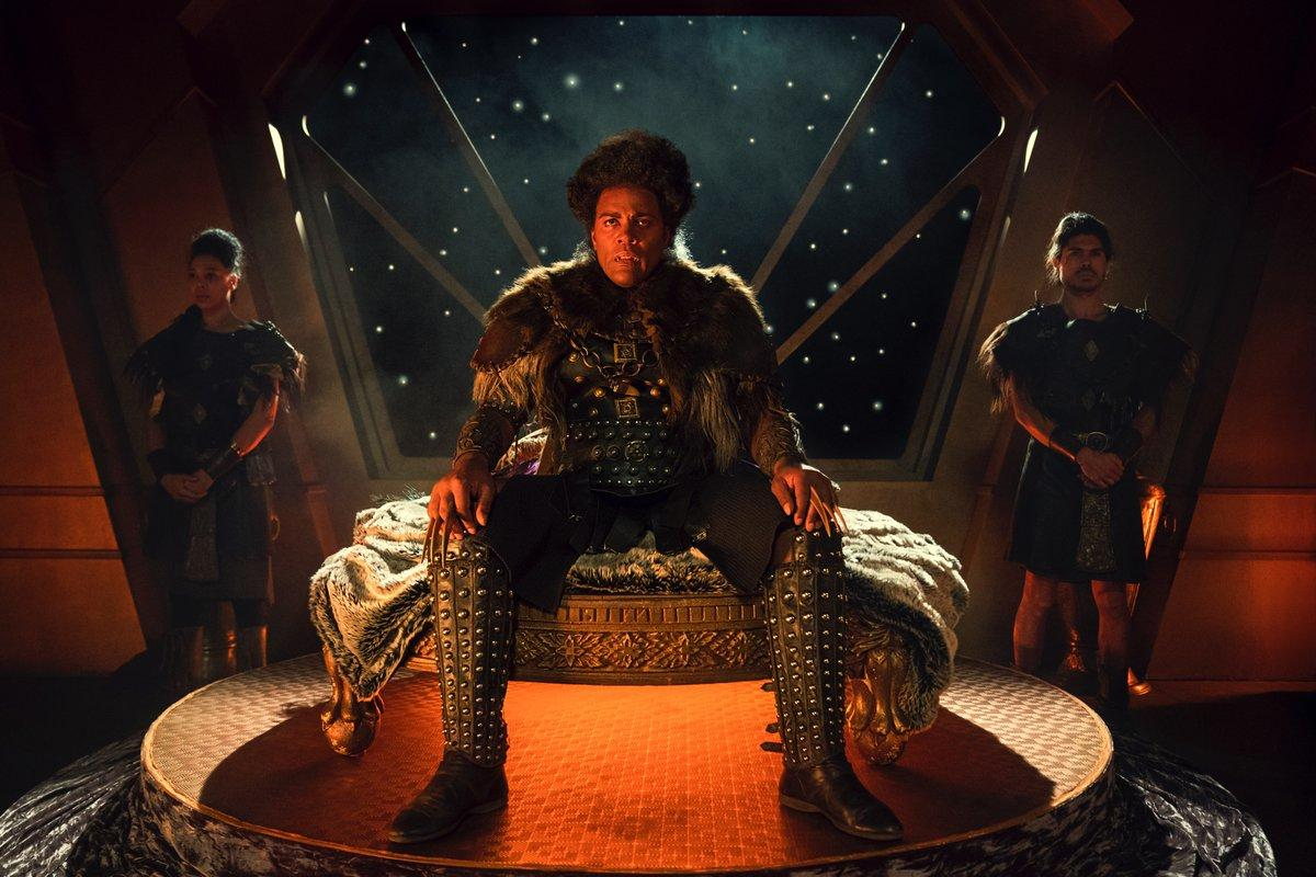 """Pictured is a first look at Ray Fearon in """"Red Dwarf""""."""